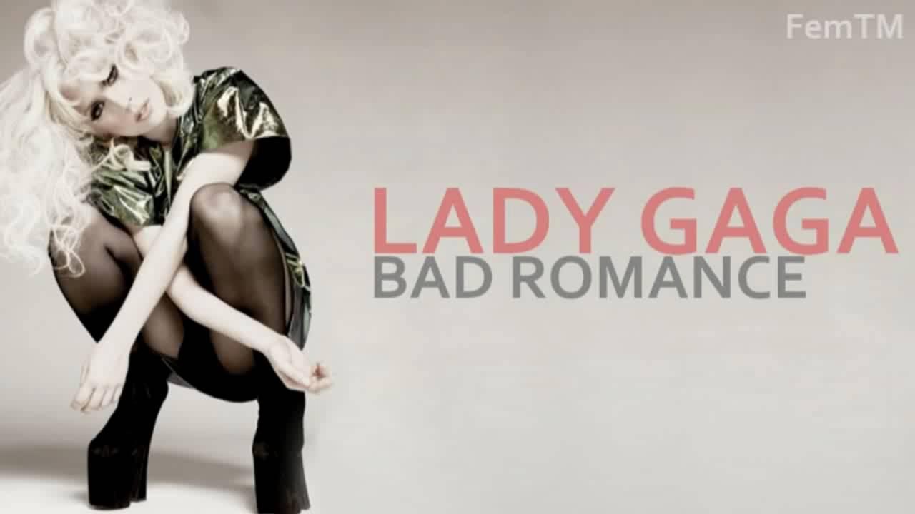 Lady gaga poker bad romance