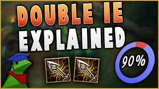 IN-DEPTH GUIDE TO DOUBLE IE JHIN! 90% WIN RATE BUILD! Everything you need to know.