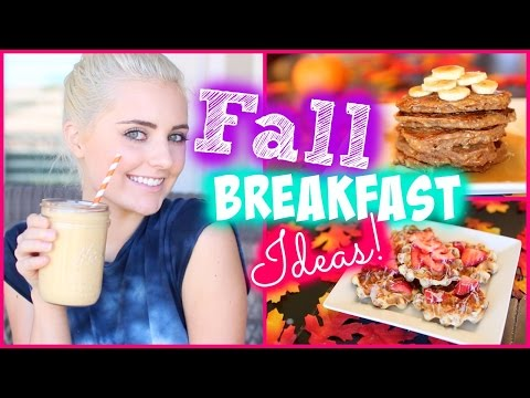 Yummy Breakfast Ideas for Fall Mornings! | Aspyn Ovard