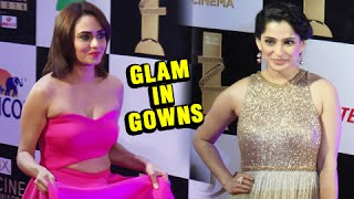 Zee CINE Awards 2016 | Amruta Khanvilkar & Priya Bapat in Glamorous Hot Gowns