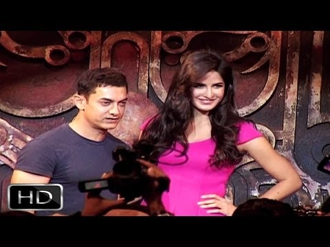 Aamir Khan - Katrina Kaif Launch 'dhoom Machale Dhoom' Song video