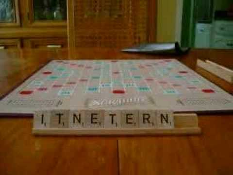 Scrabble:The Greatest Board Game Ever Played-Stop Motion