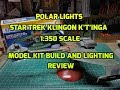Polar Lights Star Trek Klingon Ktinga 1/350 Scale Model Kit Build and Lighting Review POL950