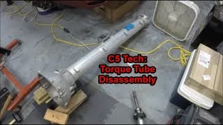 C5 Tech: Torque Tube Disassembly and What to Check!