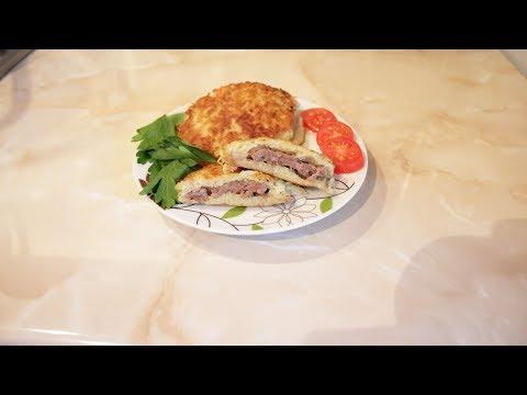 Драники с мясом (колдуны) очень сочные и вкусные!!!