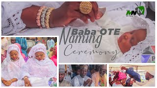 BABA OTE NAMING CEREMONY COMPLETE VIDEO