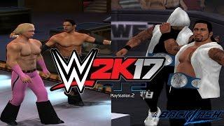 WWE 2K17 PS2: The Usos vs Breezango - Backlash 2017 - Smackdown Tag Team Championship