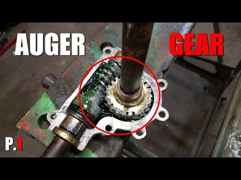 How to Fix a Snowblower Auger Gear [Part 1]