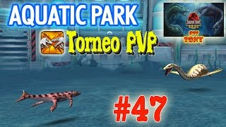 Aquatic Park Builder - Torneo PVP de Liga Estrella #08 (#047) + (ADN de Hyaenodon) por Tony