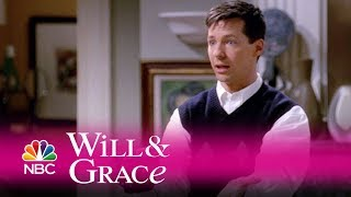 Will & Grace - Jack Surprises Grace in the Shower (Highlight)