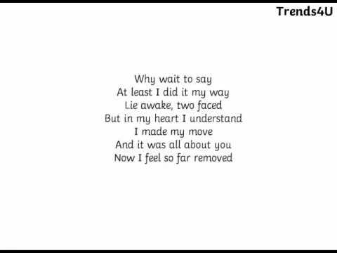 My Way - Calvin Harris (Lyrics)