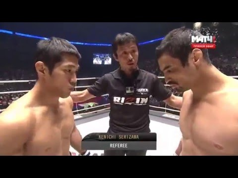 Kron Gracie vs Asen Yamamoto - RIZIN FF 12/31/2015