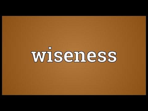 Header of wiseness