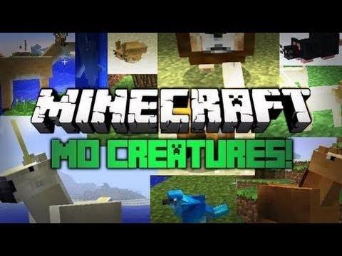 Minecraft 1.7.2 | Review e Instalación de Mods | MO CREATURES