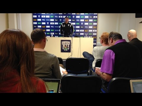 PRESS CONFERENCE | Tony Pulis previews Albion's Premier League trip to Manchester United