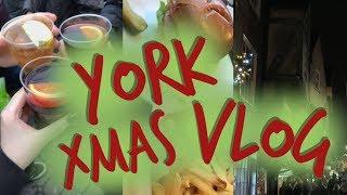 XMAS SHOPPING IN YORK // Teesside Uni Vlog