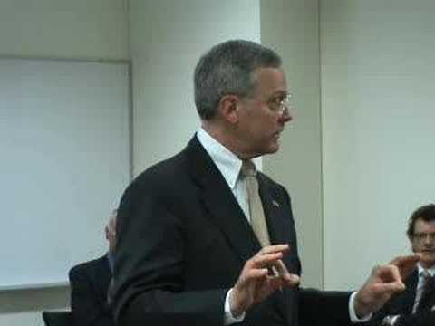 US Ambassador Visits Heinz School