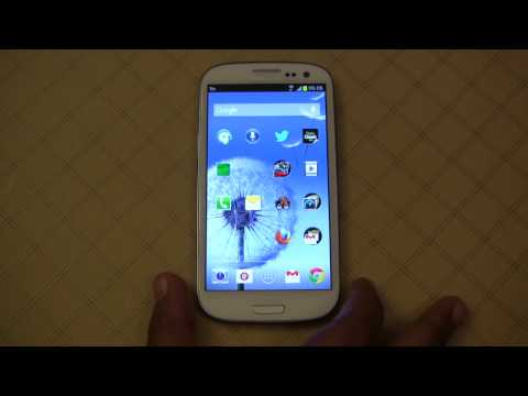 Samsung Galaxy S III -  Five Important Apps to...