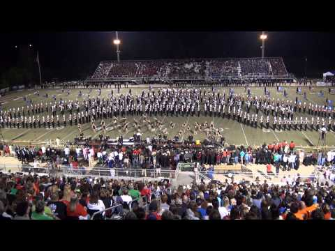 2014 JSU Marching Southerners - Mid-South Performance 9/28/14