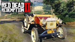 Red Dead Redemption 2 Cars, Motorcycles, and More (Red Dead Online DLC)