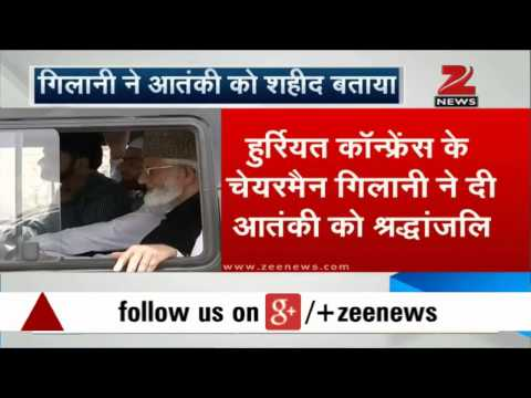 Hurriyat leader Ali Shah Geelani praises terrorists who killed Colonel MN Rai