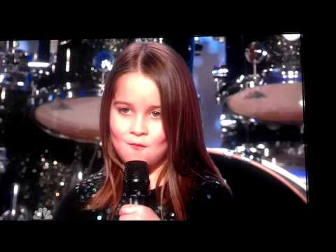 Little Girl Singing Screamo - America's Got Talent video