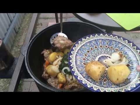 ✔СВИНЫЕ РЕБРЫШКИ с овощами в казане, легко и вкусно!!! Удивите гостей!