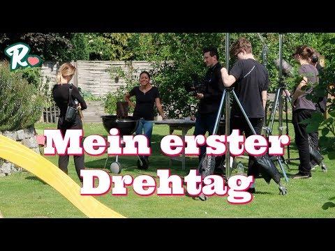 Mein erster Drehtag - Garten voller Menschen - Vlog#974 Rosislife