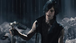 Devil May Cry 5 | New Gameplay Trailer | V trying to kill Dante