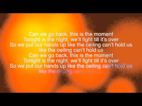 Can't Hold Us - Macklemore ft. Ray Dalton (Lyrics on Screen)