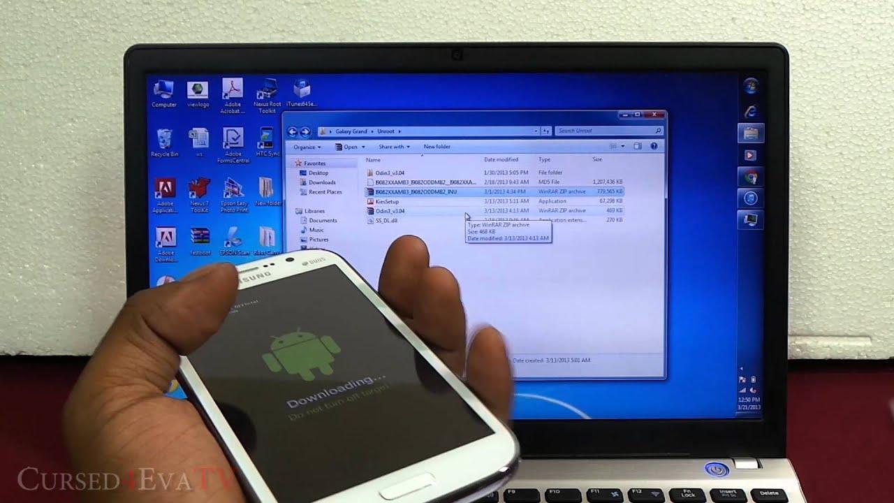Samsung Galaxy Grand (I9082) - How to Unroot / Unbrick - Cursed4Eva