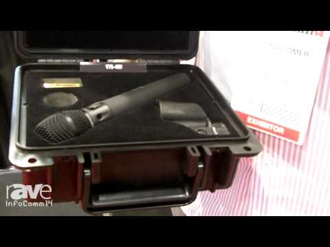 InfoComm 2014: Line 6 Shows its V75-40V Microphone with Earthworks Capsule