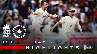 2 In 2 From Anderson Sparks Comeback!   England v India - Day 2   1st LV= Insurance Test 2021
