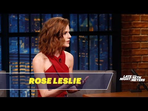 Rose Leslie Won't Let Kit Harington Read Game of Thrones Scripts Near Her