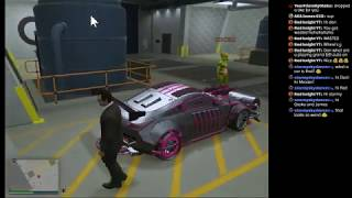 causing hell with GamesMeister (Grand Theft Auto V Online)