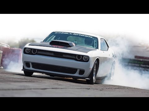 2015 Dodge Challenger Drag Pak - Test Car 1