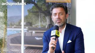Archiproducts Milano 2017 | ROYAL BOTANIA - Frank Boschman talks about Palma the umbrella