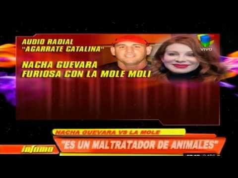Nacha Guevara apuntó contra la Mole Moli