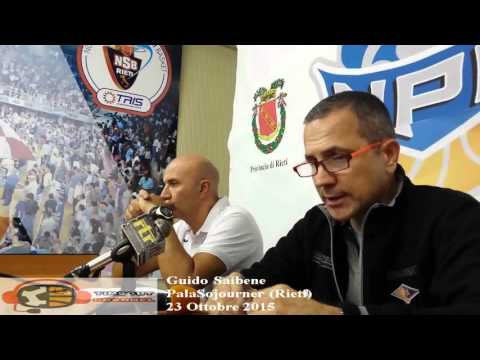 coach Guido Saibene post Rieti - Roma