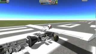 Kerbal Space Program - Just Mucking Around With The New Parts.