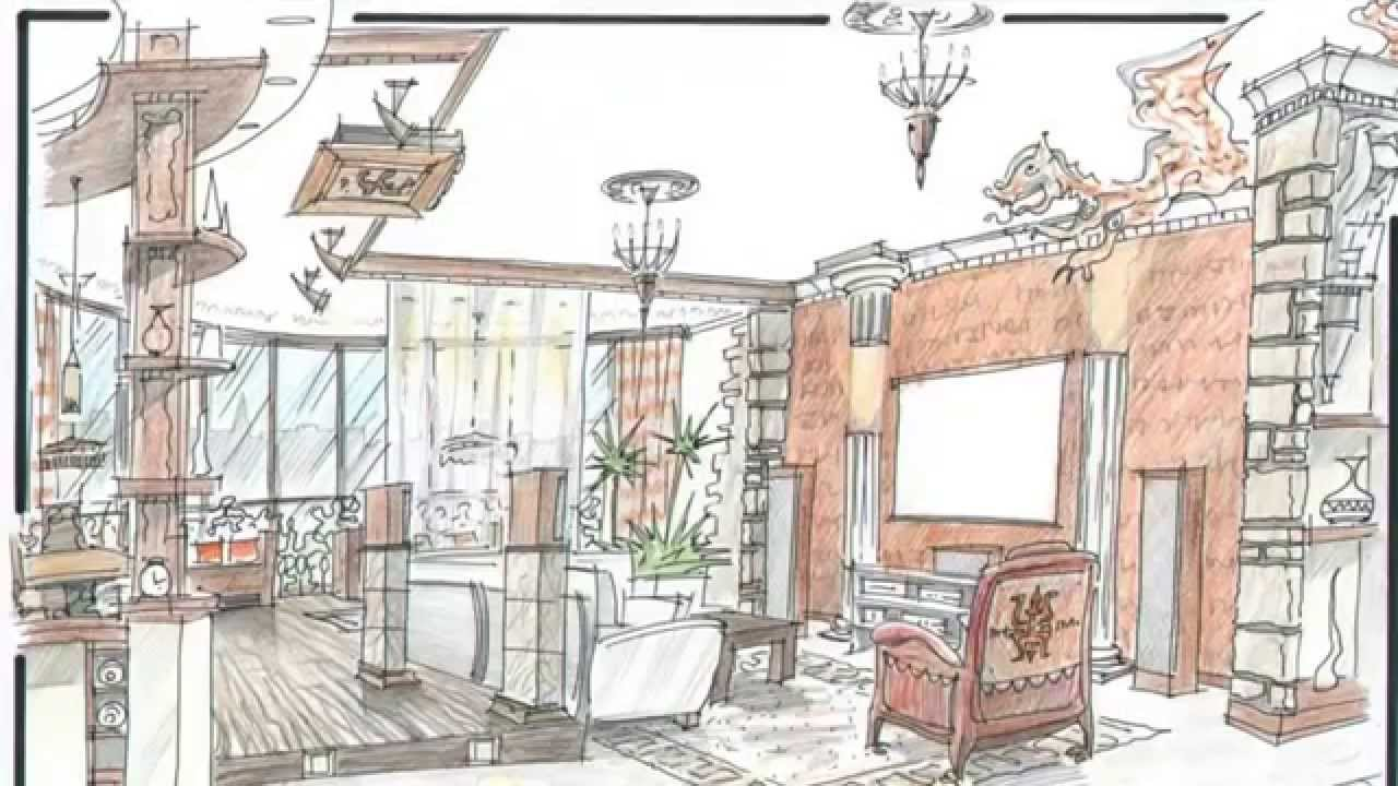 Дизайн домов рисунки