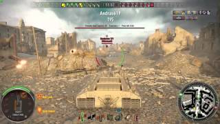 World of Tanks - Xbox One - T95 on Ruinberg - War! [6126 dmg]
