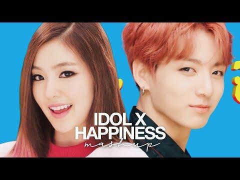 BTS & Red Velvet - 'IDOL X 행복 (Happiness)' (MASHUP)