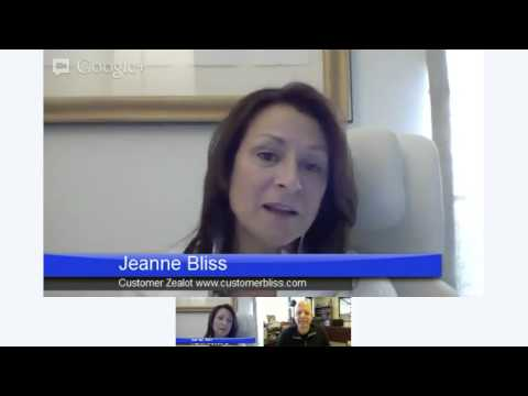 Customer Service Hangout: Shep Hyken with Jeanne Bliss
