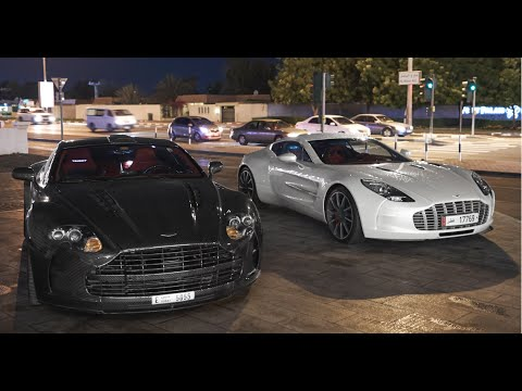 Mansory Cyrus, One77 & Fab Design Terso Driving in Dubai