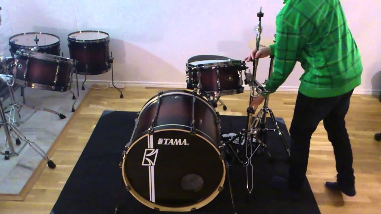how to set up a drum kit youtube