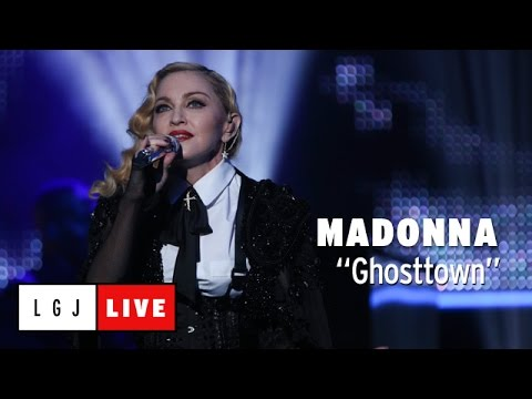 Madonna - Ghosttown - Live du Grand Journal