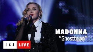 "Madonna - 仏CANAL+が""Ghosttown""のライブ映像を公開 thm Music info Clip"
