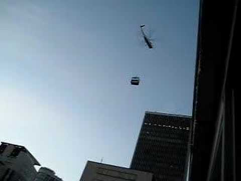helicopter in Seattle