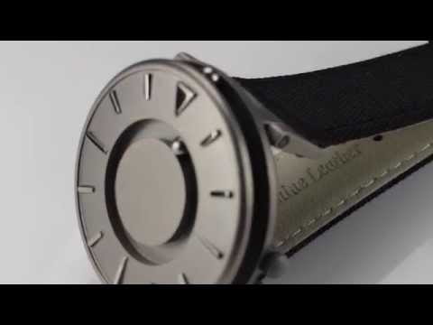 Eone Bradley Watch Canvas Black